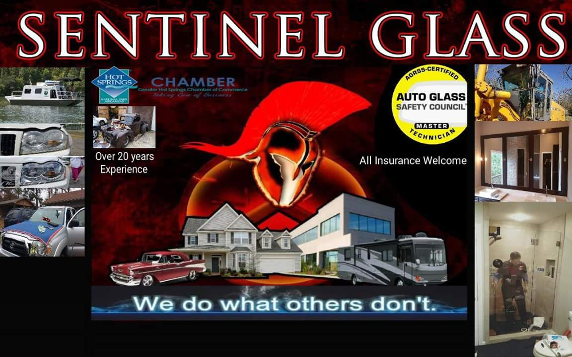 Sentinel Glass in Hot Springs, Arkansas